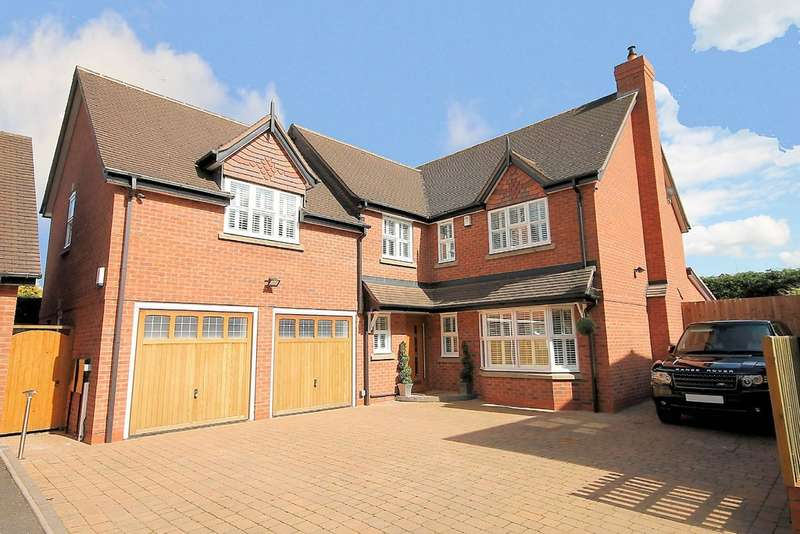 5 Bedrooms Detached House for sale in Sutton Road, Mile Oak, Nr Tamworth, B78 3PE