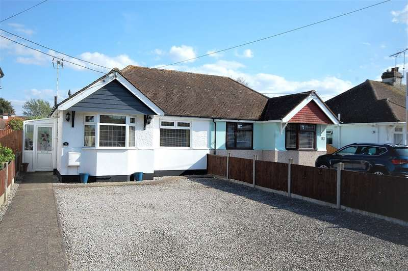 2 Bedrooms Semi Detached Bungalow for sale in St. Johns Road, Whitstable