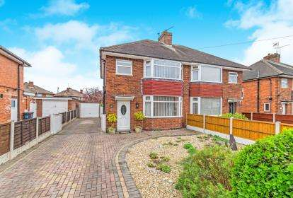 3 Bedrooms Semi Detached House for sale in Sunnyhill Avenue, Derby, Derbyshire