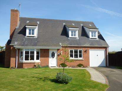3 Bedrooms Detached House for sale in Chestnut Close, Digby, Lincoln, Lincolnshire