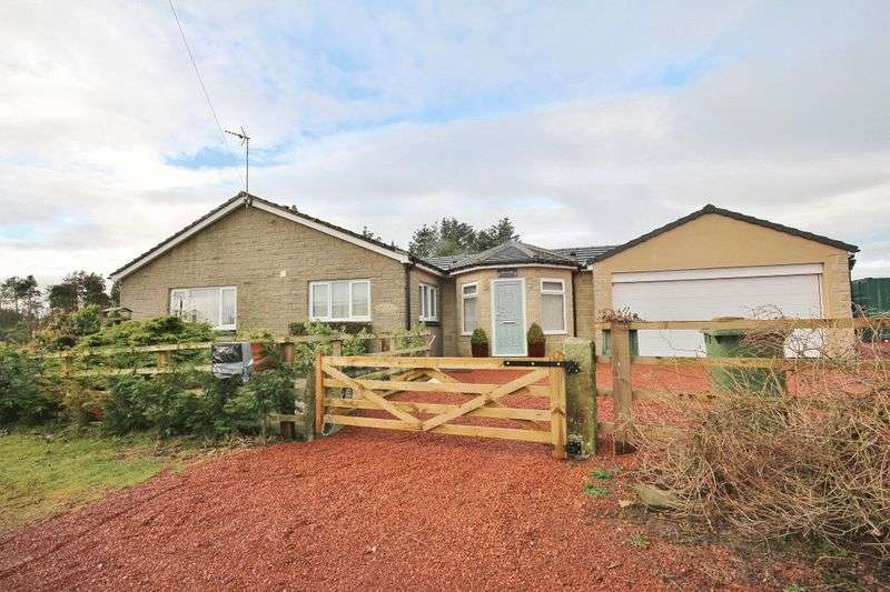 3 Bedrooms Detached Bungalow for sale in Parsonside, Harbottle, Rothbury, Morpeth