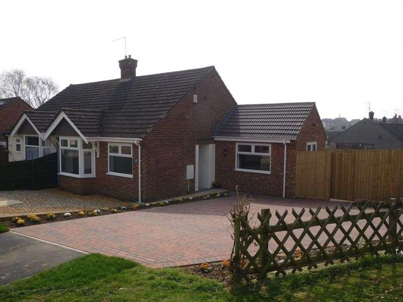 2 Bedrooms Semi Detached Bungalow for sale in Duston, Northampton