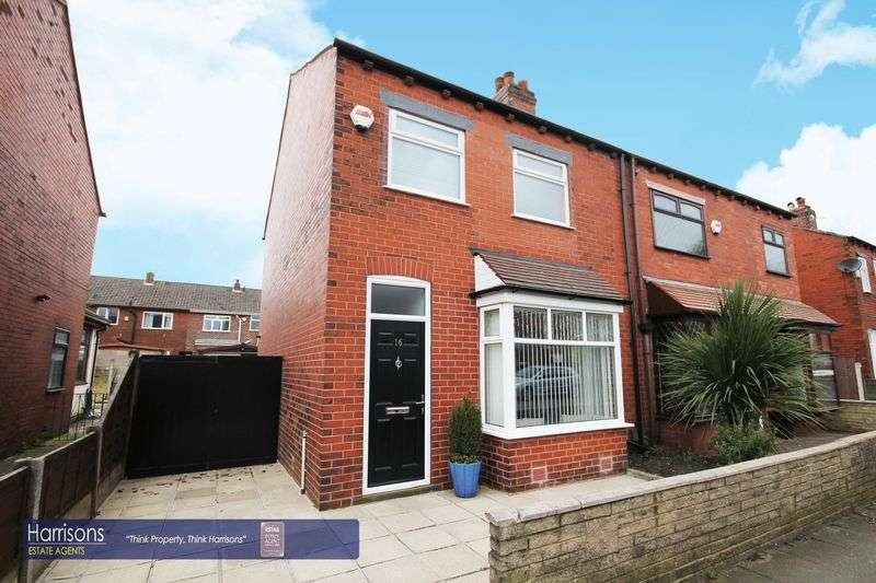 3 Bedrooms Semi Detached House for sale in Chilham Street, Morris Green, Bolton, Lancashire.