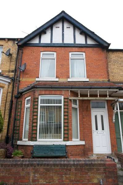 2 Bedrooms Terraced House for sale in Elmville Avenue, Scarborough, North Yorkshire, YO12