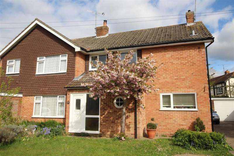 3 Bedrooms Semi Detached House for sale in Chaseside Avenue, Twyford, Reading