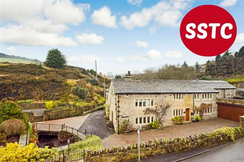 5 Bedrooms Detached House for sale in Berry Mill Lane, Huddersfield