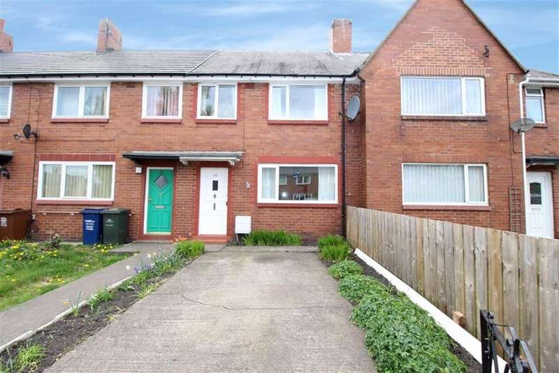 3 Bedrooms Terraced House for sale in Weldon Crescent, Newcastle Upon Tyne, NE7