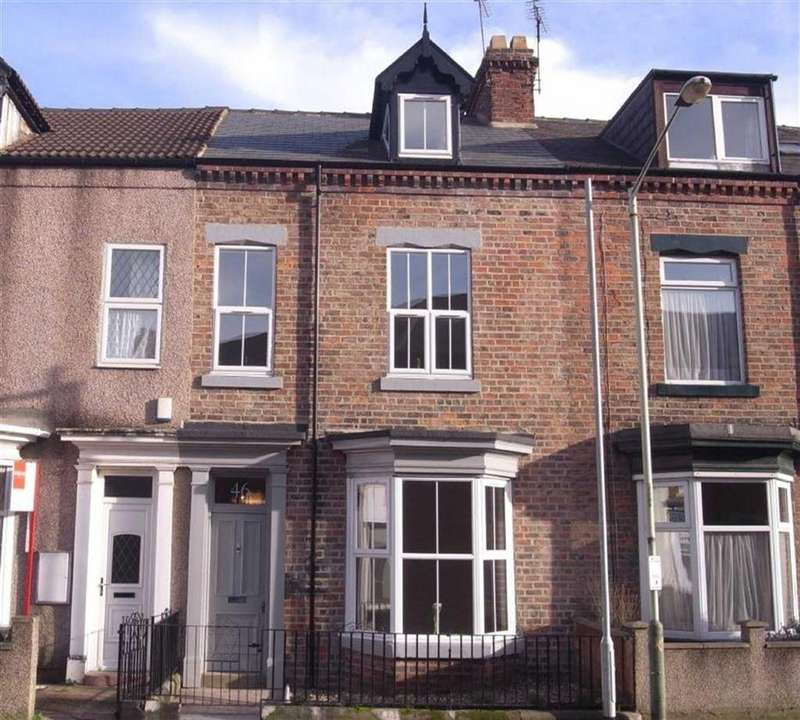 4 Bedrooms Terraced House for sale in Greenbank Road, Darlington