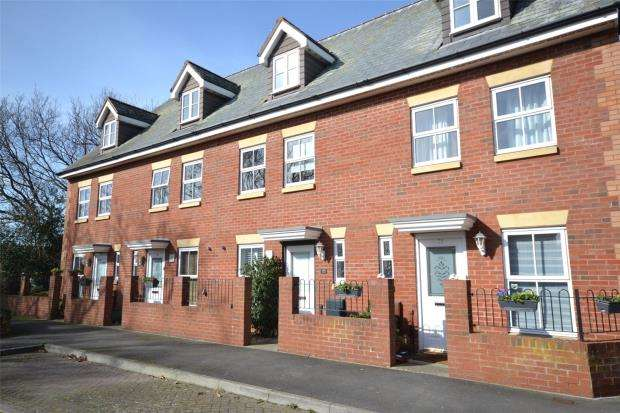3 Bedrooms Terraced House for sale in Norman Crescent, Budleigh Salterton, Devon