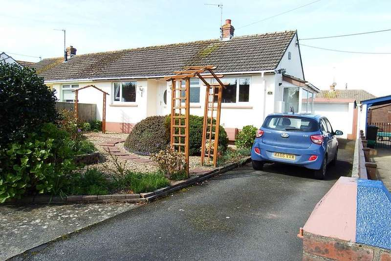 2 Bedrooms Semi Detached Bungalow for sale in Fremington, Barnstaple