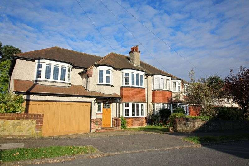 5 Bedrooms Semi Detached House for sale in Court Hill, Sanderstead, Surrey