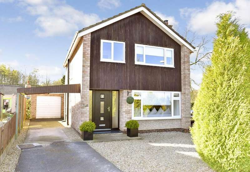 3 Bedrooms Detached House for sale in Woodpark Drive, Knaresborough