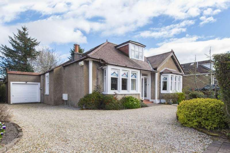 4 Bedrooms Detached Bungalow for sale in 1 Willow Avenue, Lenzie, Glasgow, G66 4RQ