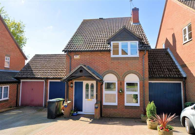 3 Bedrooms Link Detached House for sale in St Mary's Way, Burghfield Common, Reading, RG7