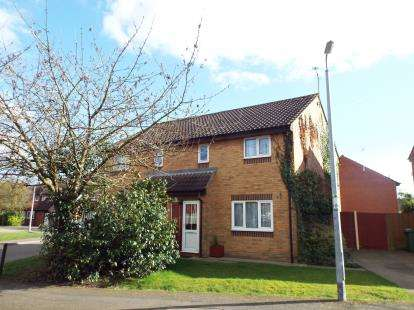 3 Bedrooms Semi Detached House for sale in Woodfield Gate, Dunstable, Bedfordshire, England