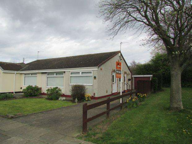 2 Bedrooms Semi Detached Bungalow for sale in CAISTOR DRIVE, FENS, HARTLEPOOL