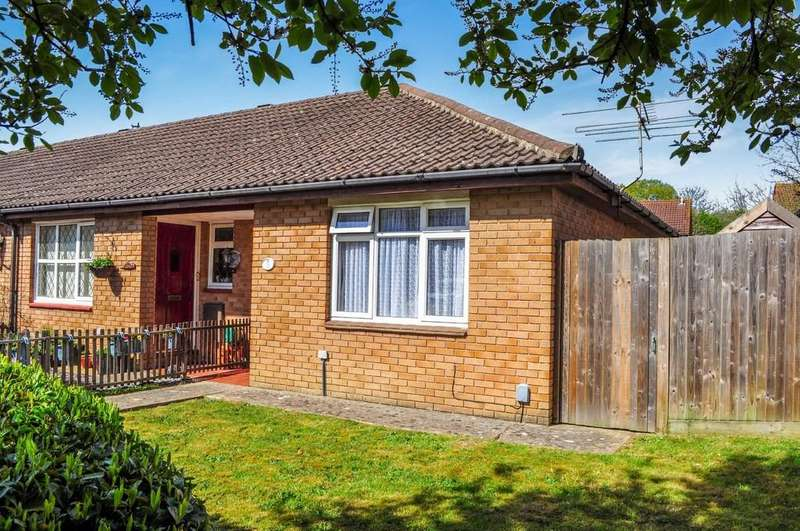 1 Bedroom Terraced Bungalow for sale in St Brelades Road, Cottesmore Green