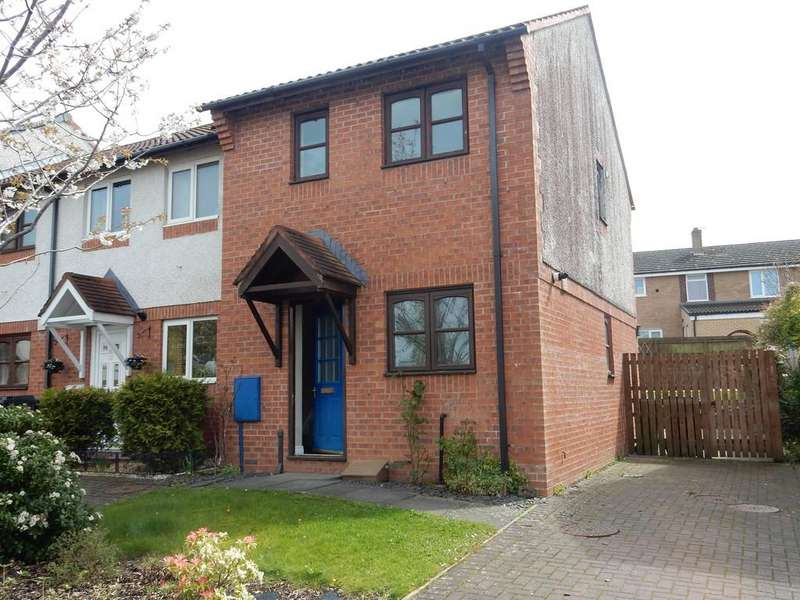 2 Bedrooms End Of Terrace House for sale in Fulford Walk, Etterby Park
