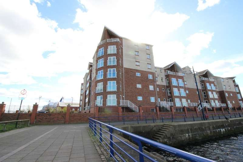 2 Bedrooms Flat for sale in Commissioners Wharf, North Shields, NE29