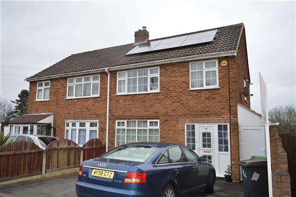 3 Bedrooms Semi Detached House for sale in Rookery Road, Lanesfield, Wolverhampton