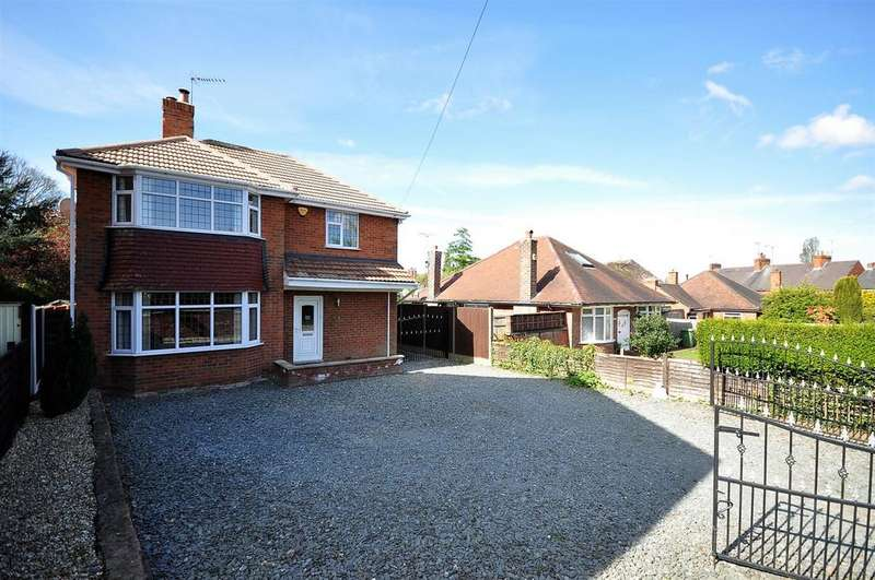 3 Bedrooms Detached House for sale in The Nook, Sunny Bank, Mansfield