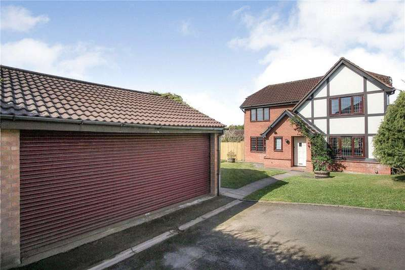 4 Bedrooms Detached House for sale in Freshwater Drive, Brierley Hill, West Midlands, DY5