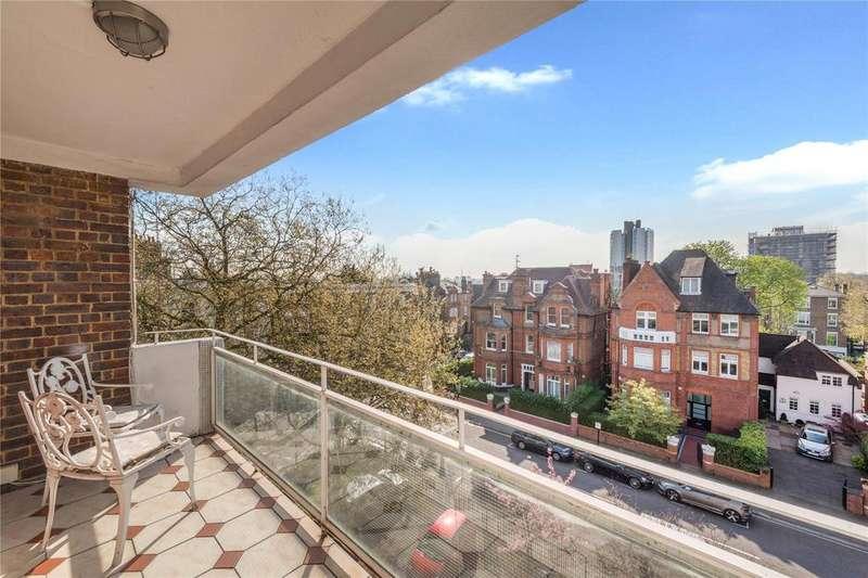 2 Bedrooms Flat for sale in Lowlands, Eton Avenue, Belsize Park, London