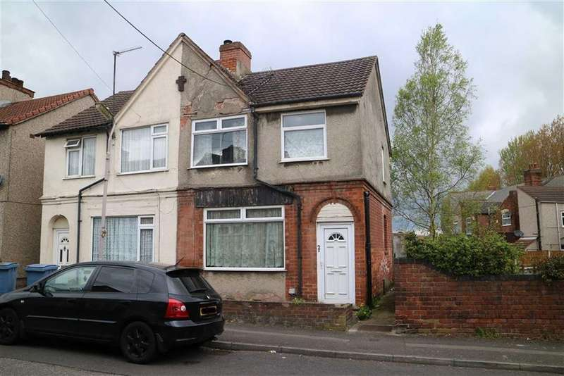 3 Bedrooms Semi Detached House for sale in 2, Somersall Street, Mansfield, Nottinghamshire, NG19