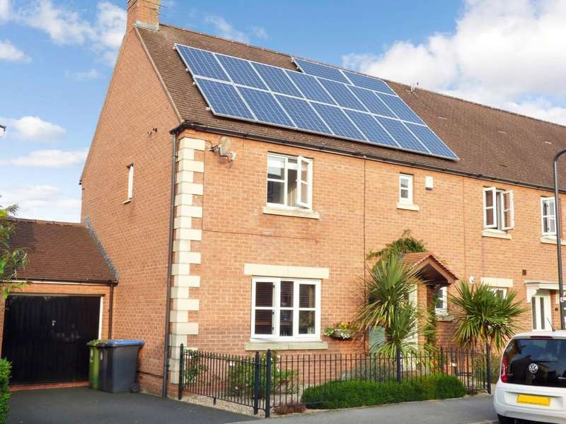 3 Bedrooms End Of Terrace House for sale in Amis Way, Stratford-Upon-Avon