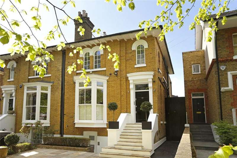 6 Bedrooms Semi Detached House for sale in Westbridge Road, Battersea Park, London, SW11