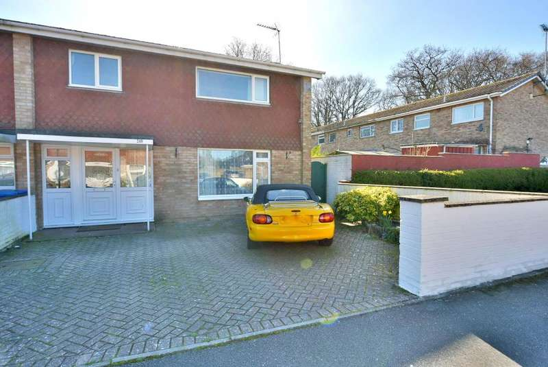 4 Bedrooms Semi Detached House for sale in Creekmoor, Poole, BH17 7XQ