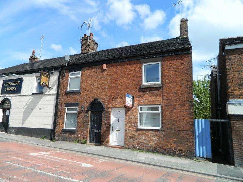 2 Bedrooms Terraced House for sale in Crewe Road, Wheelock