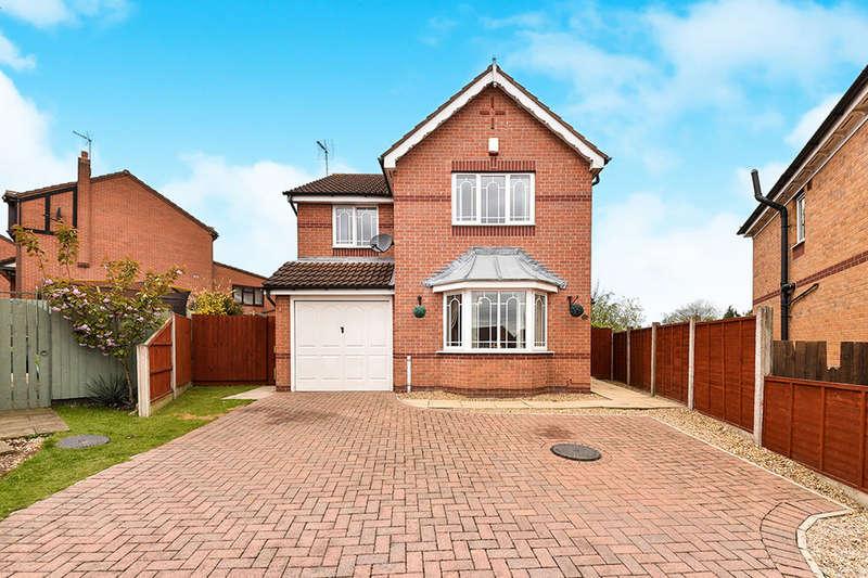 4 Bedrooms Detached House for sale in Honeysuckle Drive, South Normanton, Alfreton, DE55