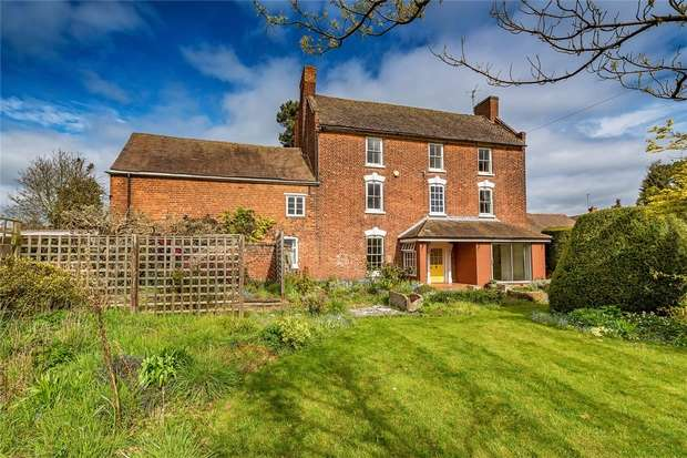 4 Bedrooms Detached House for sale in Dothill House, North Road, Wellington, Telford, Shropshire
