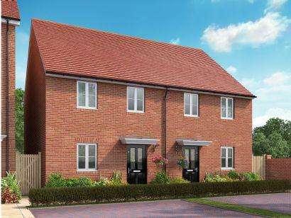 3 Bedrooms Semi Detached House for sale in St Andrews At Kingsfield, Bromham Road, Biddenham