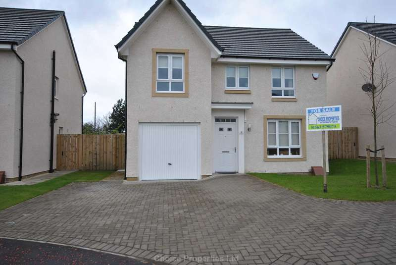 4 Bedrooms Detached House for sale in Craighall Bank, Kilmarnock, KA3 6GP