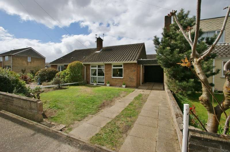 2 Bedrooms Semi Detached Bungalow for sale in Meadow Way, Norwich