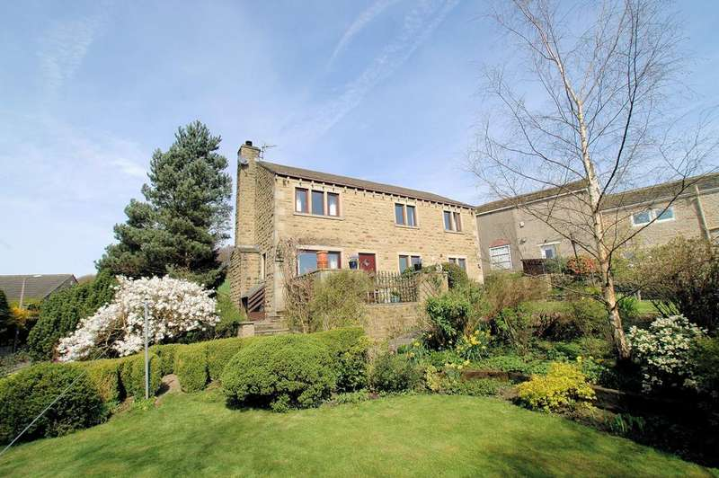 4 Bedrooms Detached House for sale in 'The Paddock', Broad Carr, Holywell Green, Halifax HX4