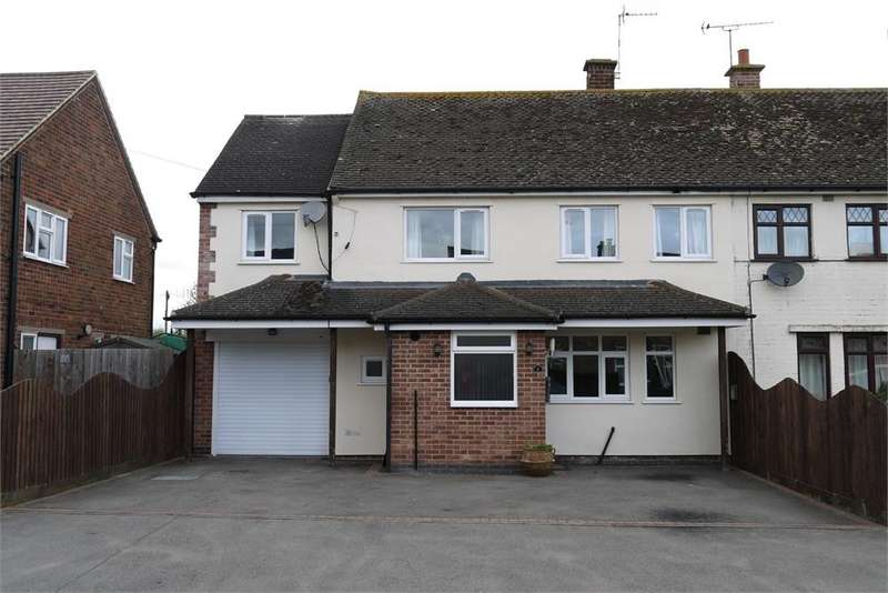 4 Bedrooms Semi Detached House for sale in Coronation Avenue, Broughton Astley, Leicester