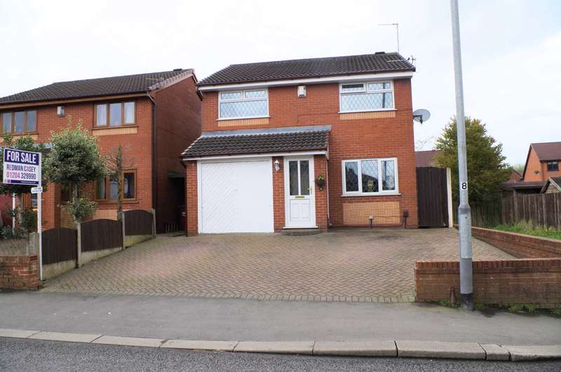 3 Bedrooms Detached House for sale in Mason Street, Horwich