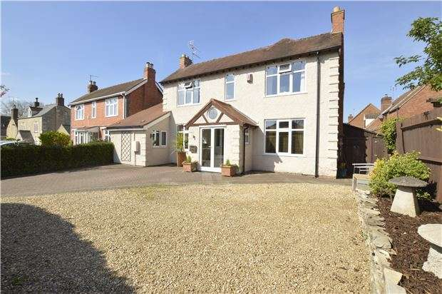 4 Bedrooms Detached House for sale in Cheltenham Road, Bishops Cleeve, GL52 8LY
