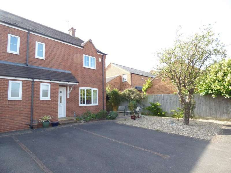 3 Bedrooms End Of Terrace House for sale in Willowaire, Off West Green Drive, Stratford-Upon-Avon