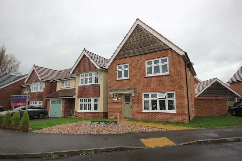 3 Bedrooms Detached House for sale in Reed Drive, Stafford