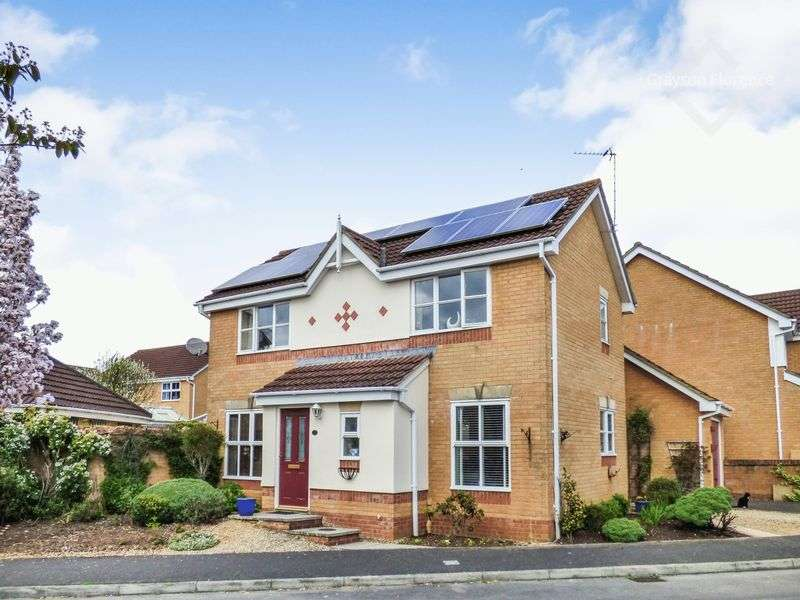3 Bedrooms Detached House for sale in Wellow Drive, Frome