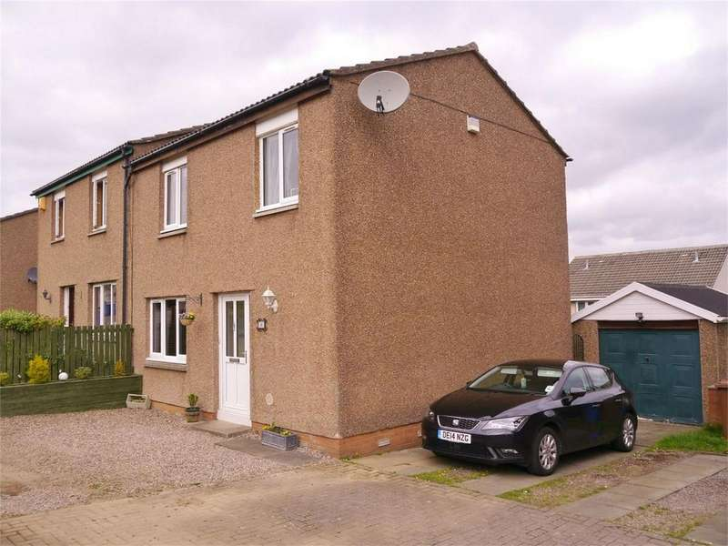 3 Bedrooms Semi Detached House for sale in 9 Orrin Grove, Dalgety Bay, Dunfermline, Fife