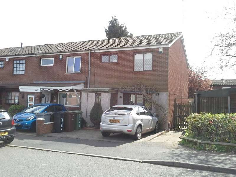 3 Bedrooms End Of Terrace House for sale in Fordbridge, Birmingham