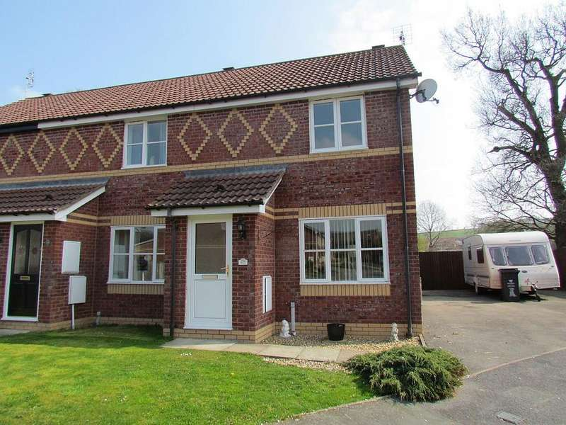 2 Bedrooms Semi Detached House for sale in Yr Helfa, Lodgevale Park, Chirk LL14