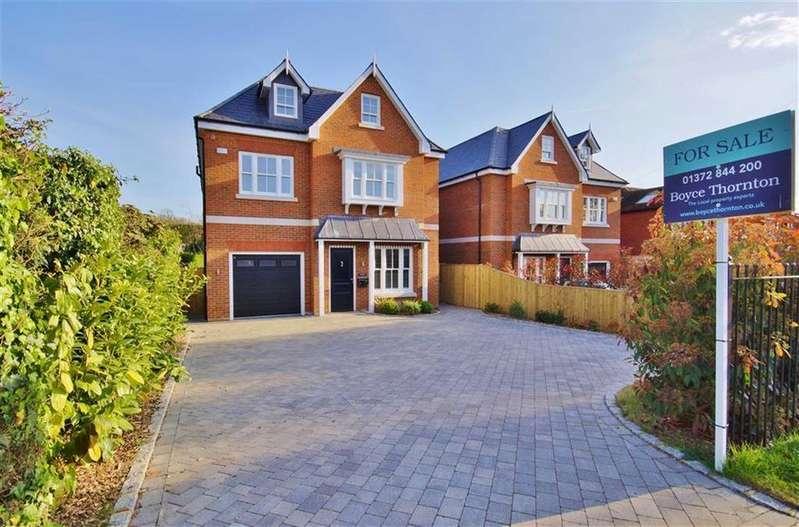 5 Bedrooms Detached House for sale in Steels Lane, Oxshott, Surrey, KT22