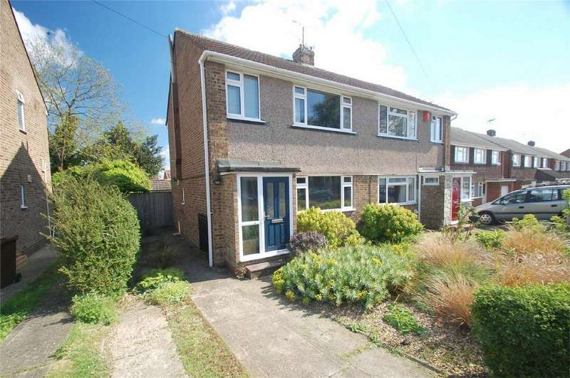 3 Bedrooms Semi Detached House for sale in Windermere Drive, Rainham, Gillingham, Kent