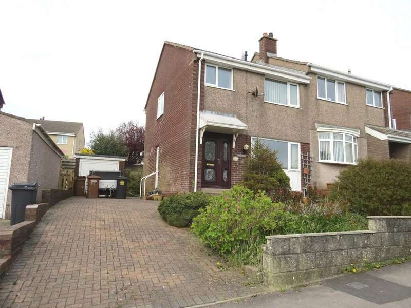 3 Bedrooms Semi Detached House for sale in Thornton Road, Whitehaven, Cumbria